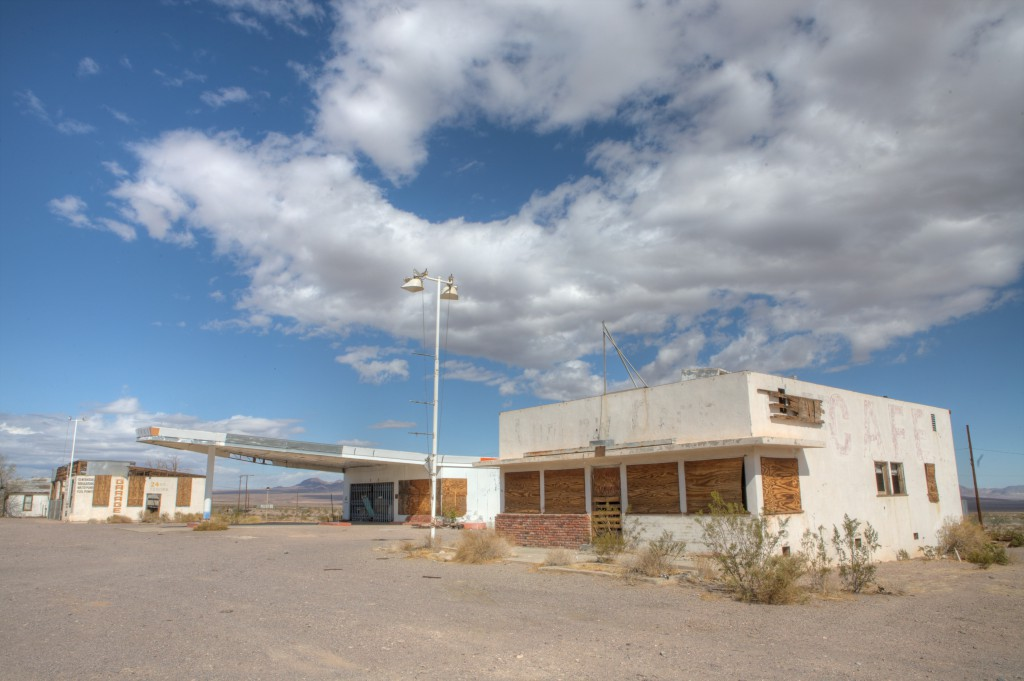 Abandoned Route 66 Filling Station