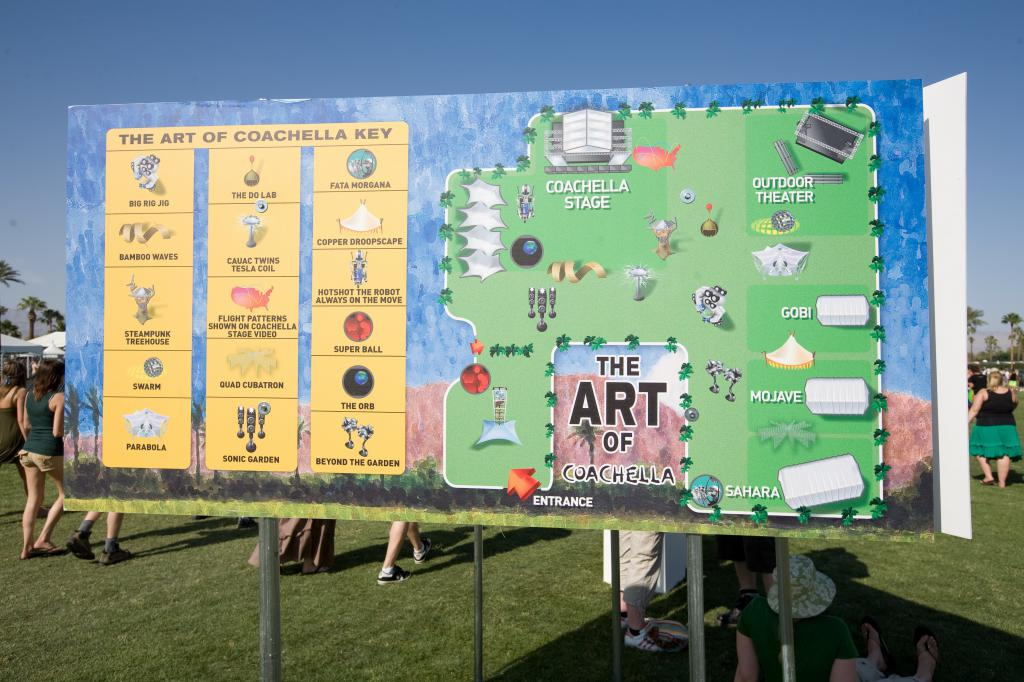 Art of Coachella Sign