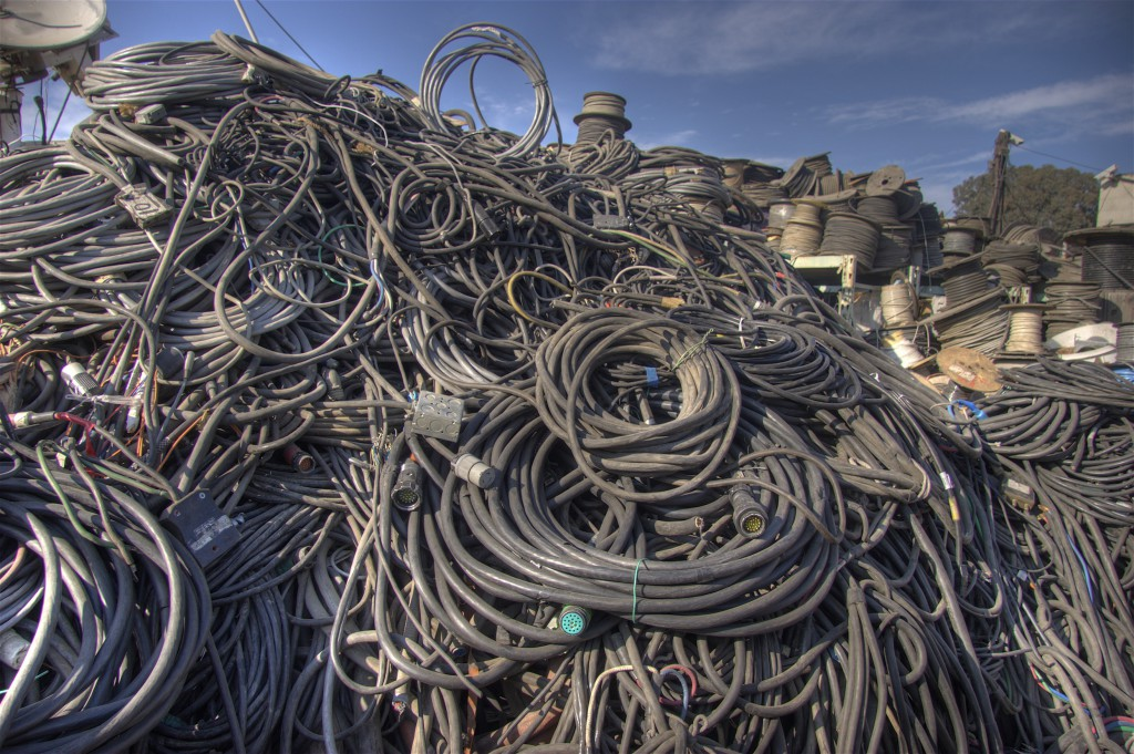 Big Pile of Wire