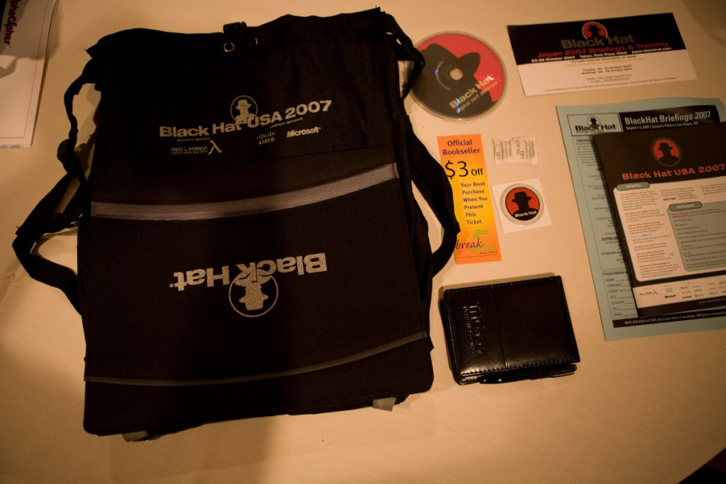 Black Hat Swag Bag