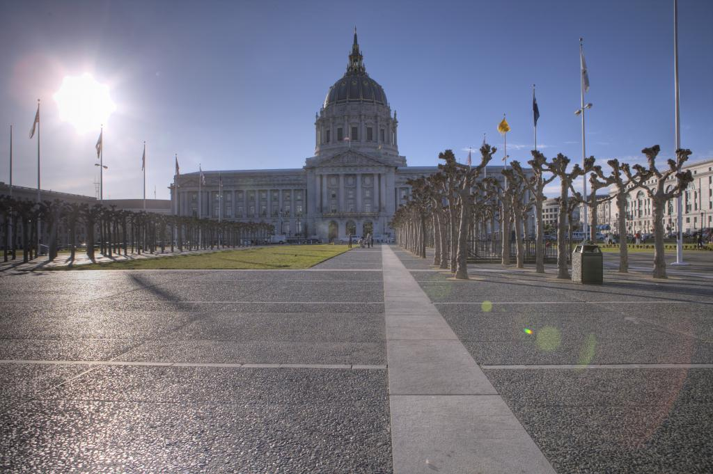 Bright Sun and City Hall