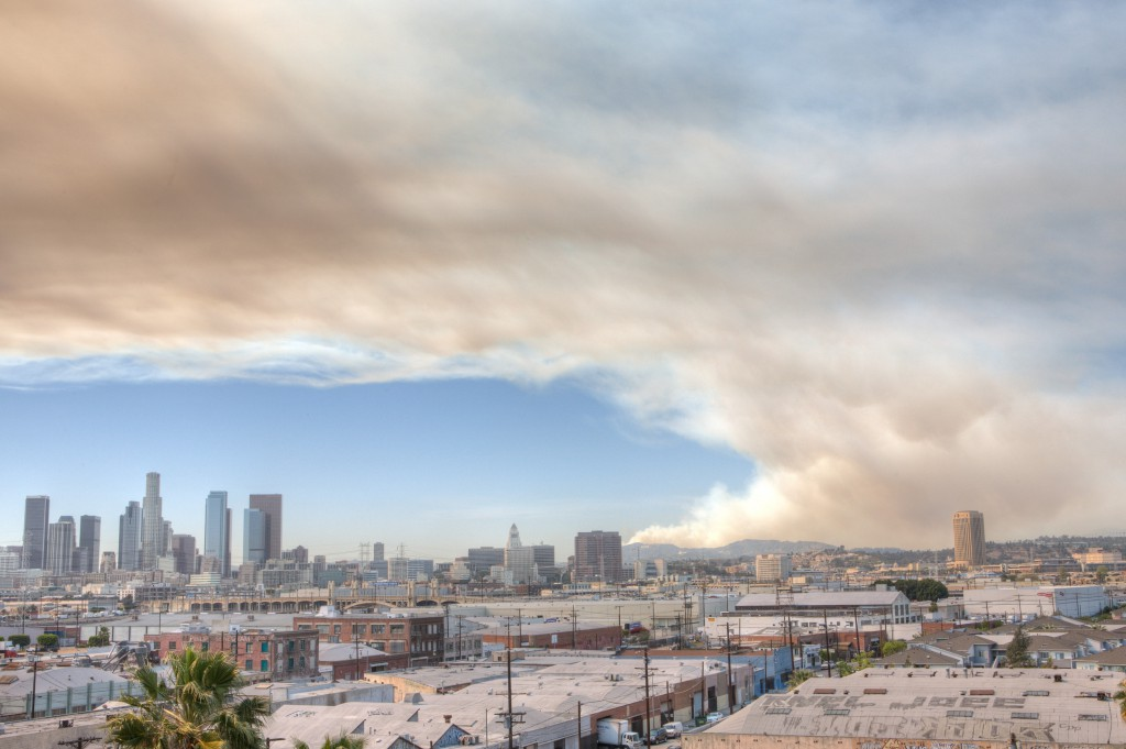 Burbank Fire HDR