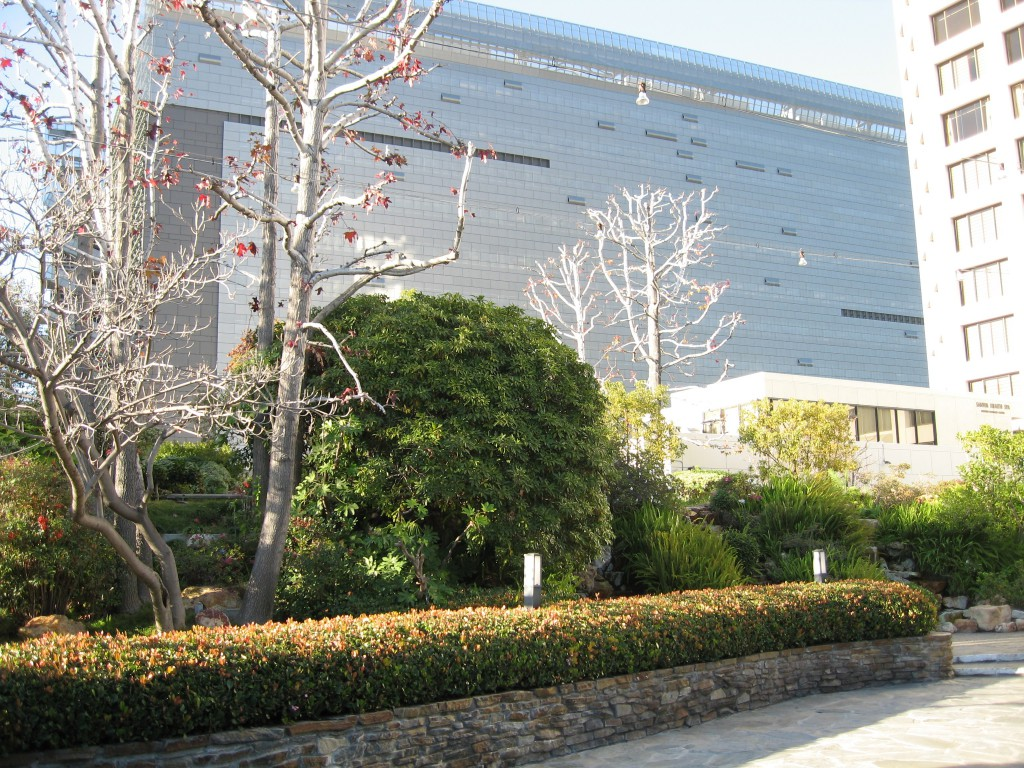 Caltrans Building from New Otani