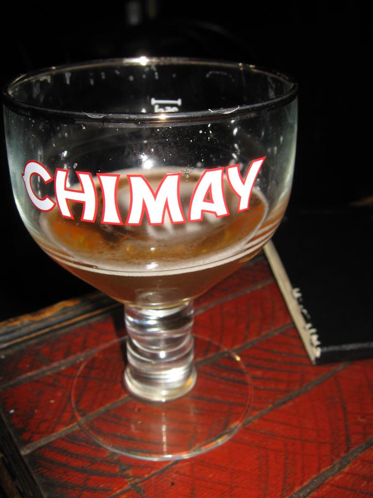 Chimay and Moleskine