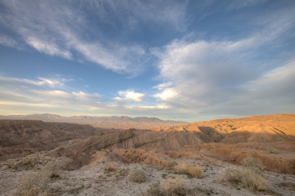 Clouds Above Anza Borrego