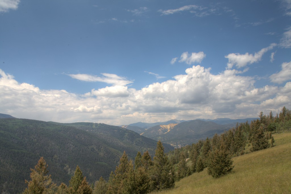 Clouds above Angel Fire