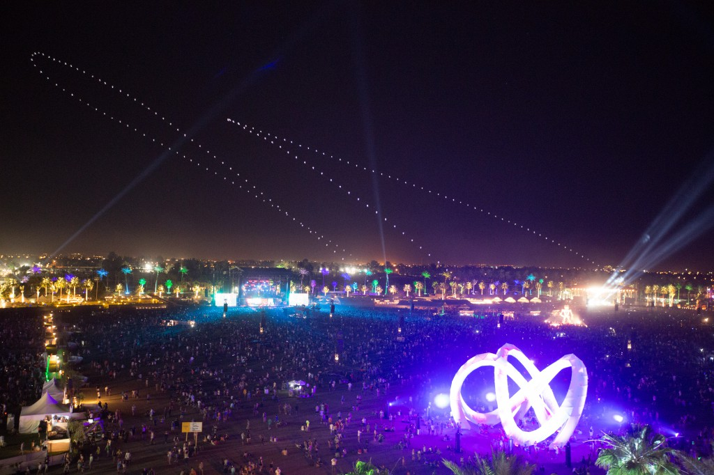 Coachella Aerial Photo
