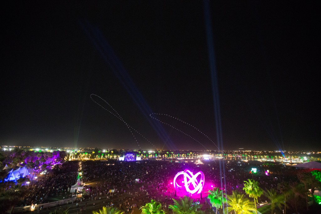 Coachella At Night
