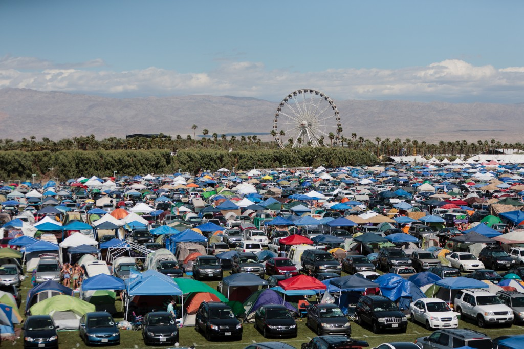 Coachella Car Campground