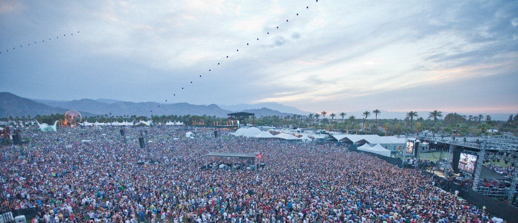 Coachella Crowd