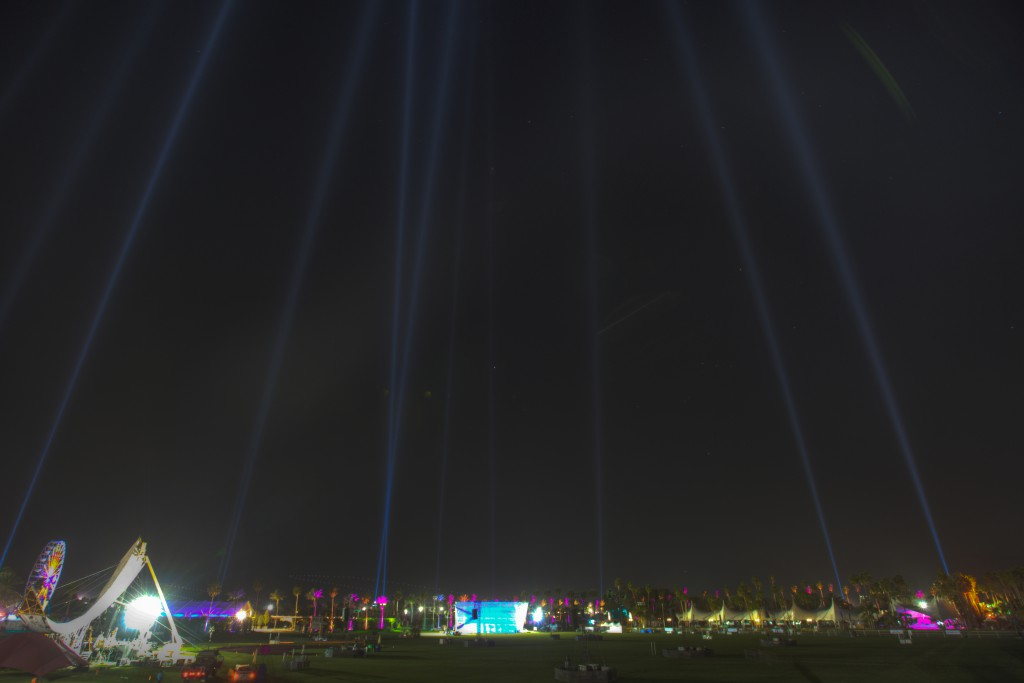 Coachella Field and Lights