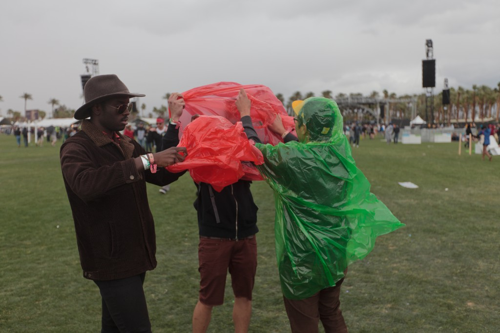 Coachella Raingear