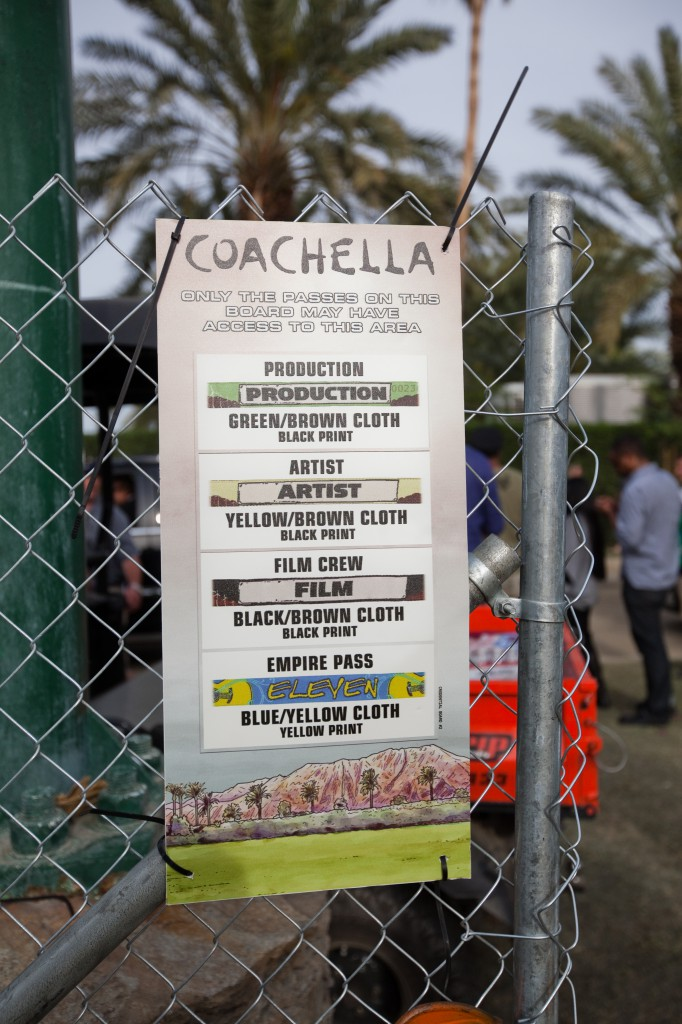 Coachella Wristbands