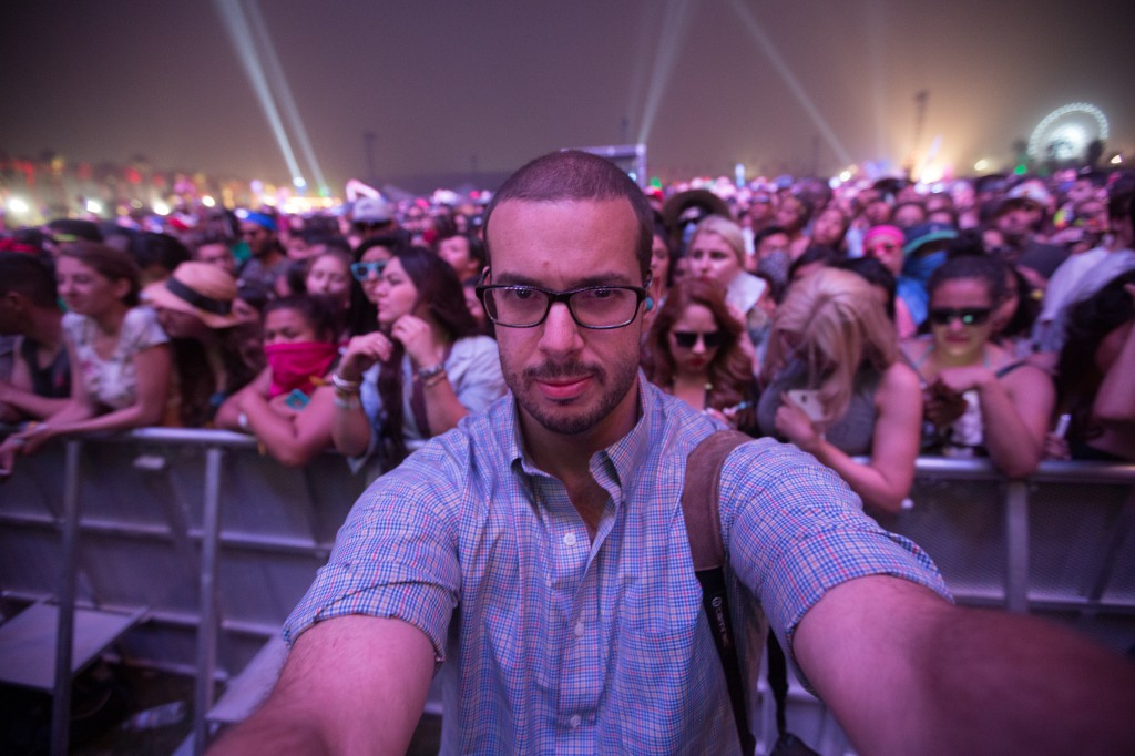 Dave Bullock Selfie at Coachella