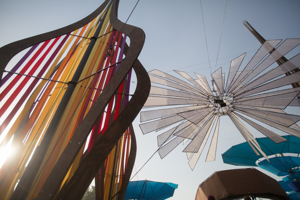 Do-Lab Structural Sculpture at Coachella