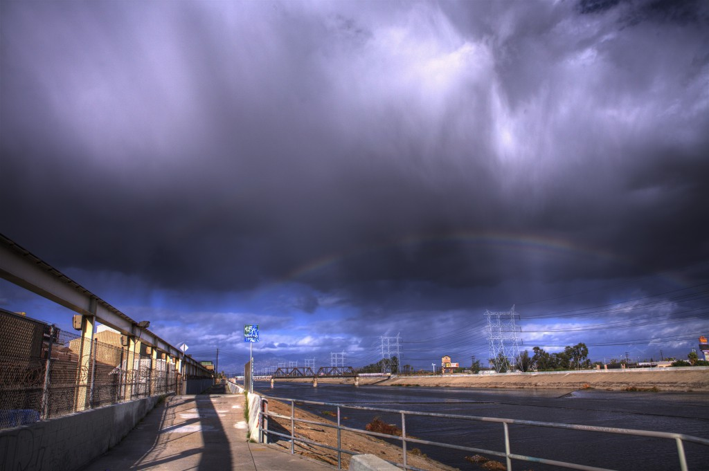 Double Rainbow and LA River