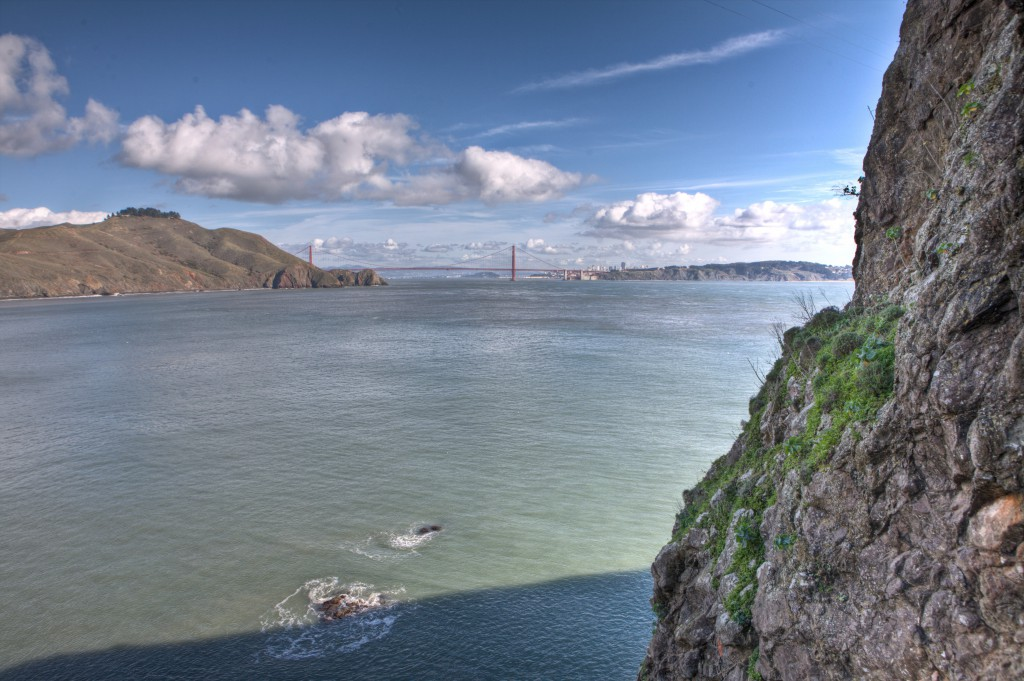 Golden Gate Bridge from Point Bonita