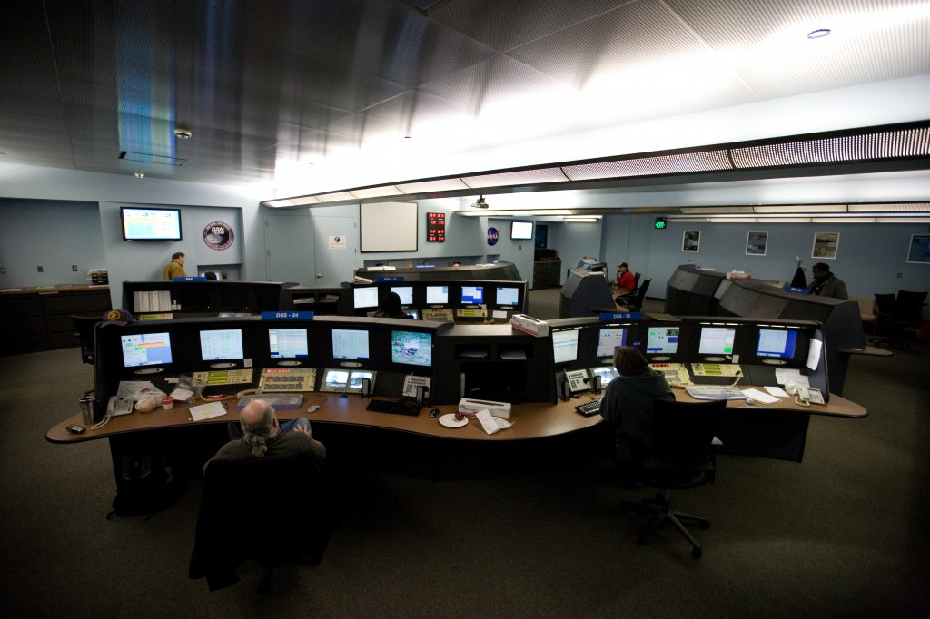 Goldstone Mission Control Room