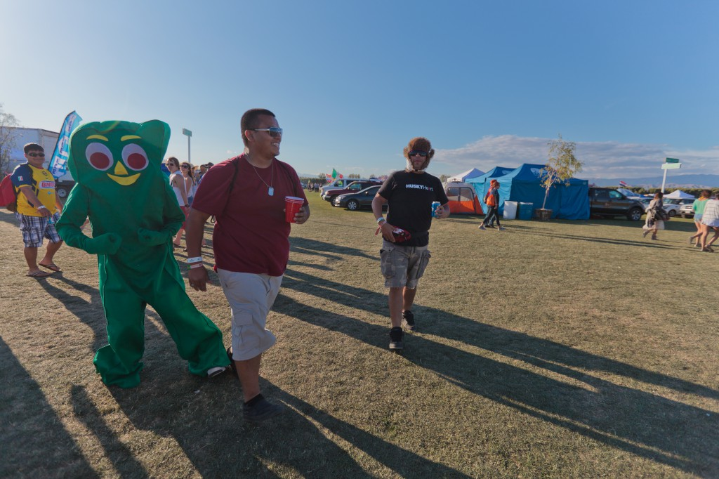 Gumby at Coachella