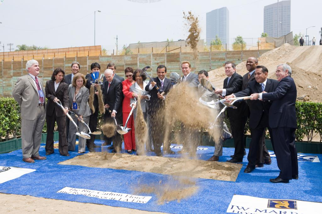 LA Live Groundbreaking Ceremony