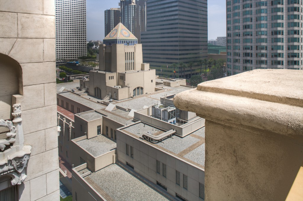 Los Angeles Library from the Hilton