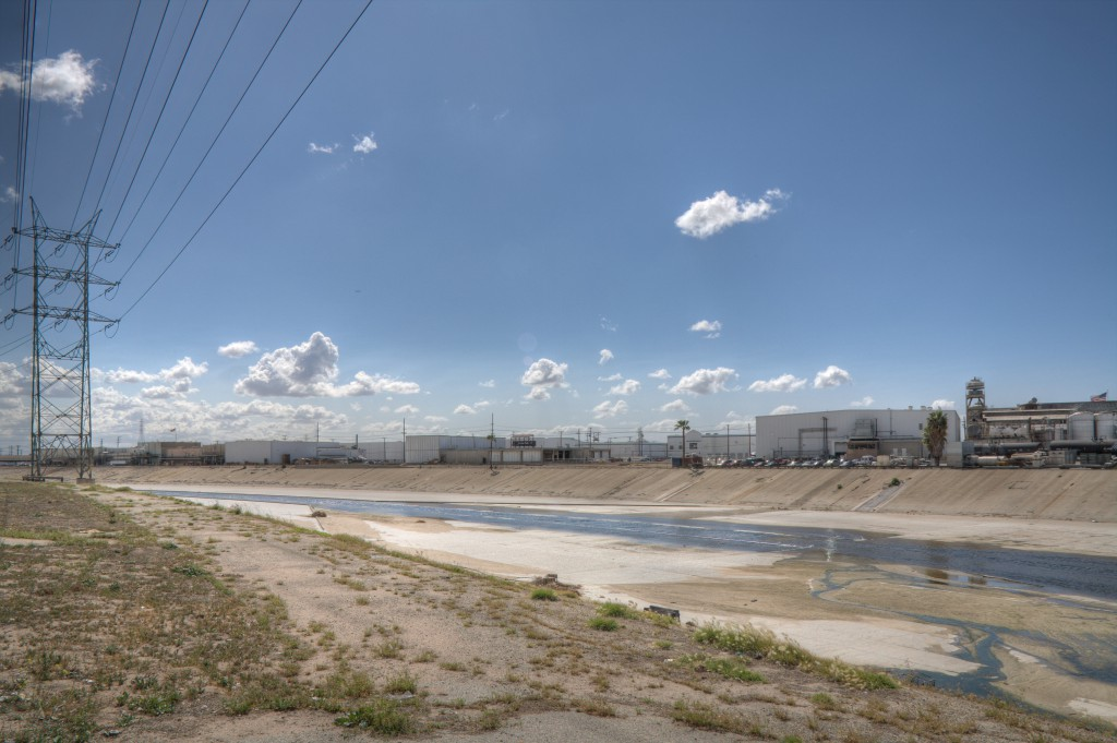 Los Angeles River from Vernon