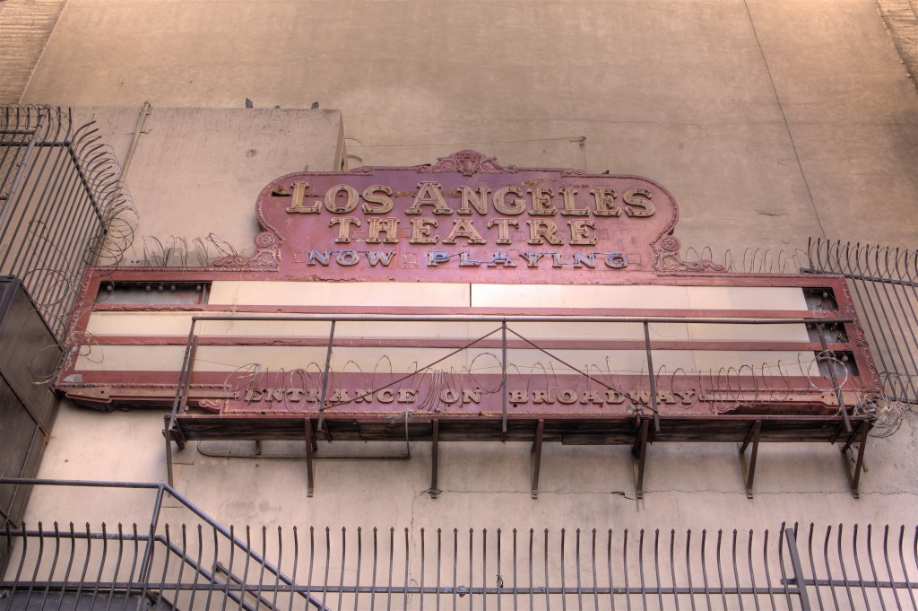 Los Angeles Theater Alley