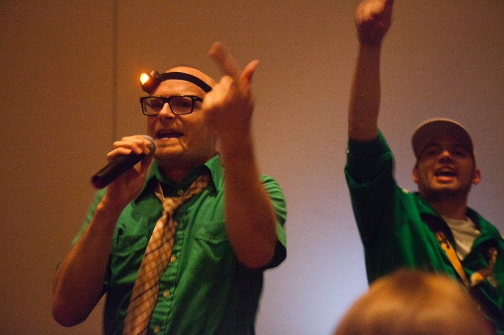 MC Frontalot and YT Cracker