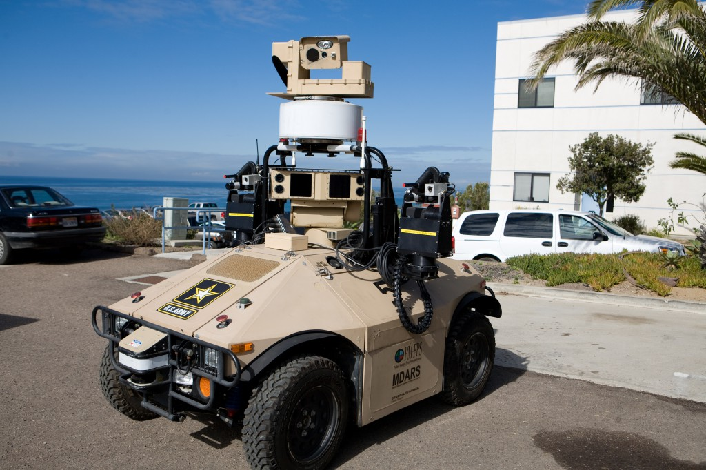MDARS Autonomous Vehicle