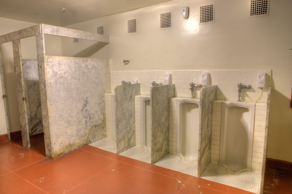 Marble Bathroom Stalls