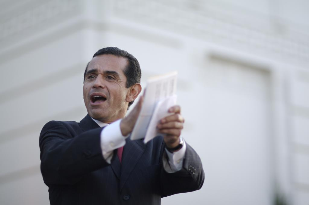 Mayor Antnio Villaraigosa