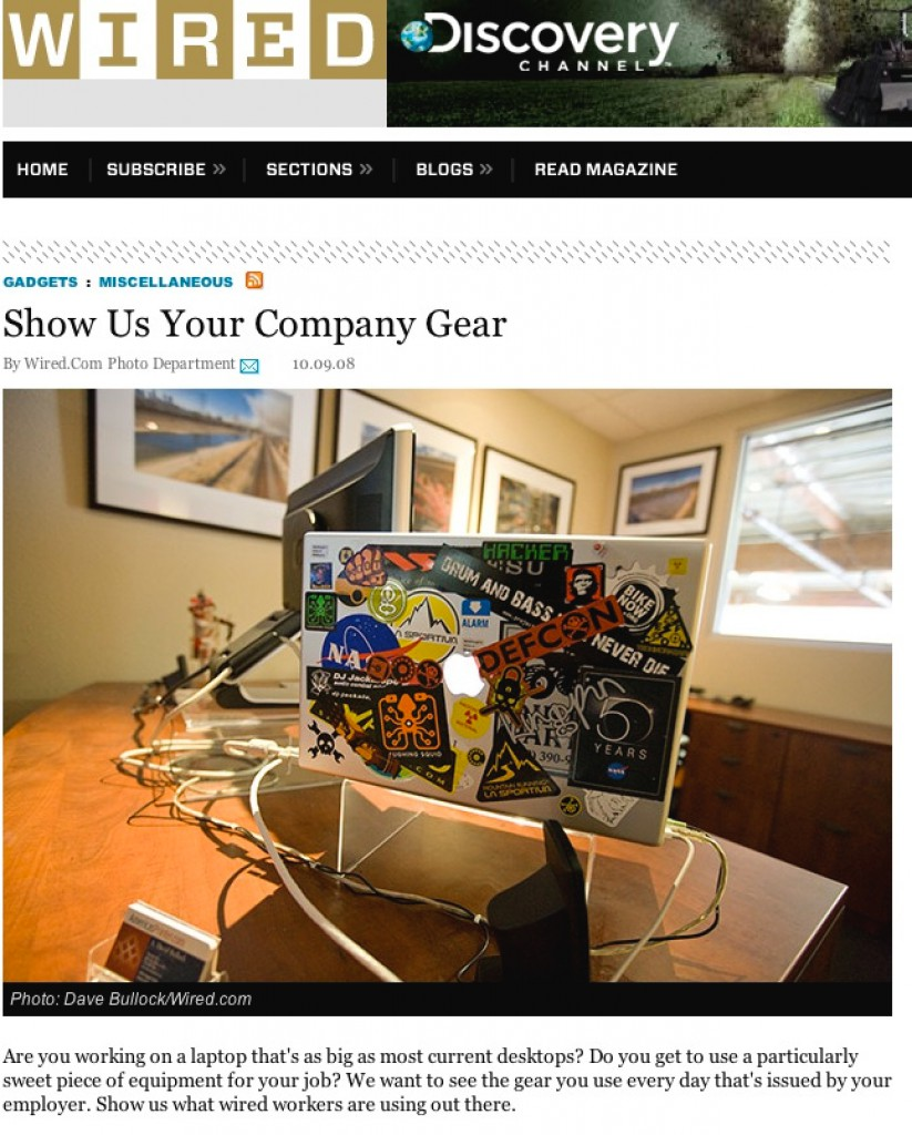 My Laptop on Wired.com