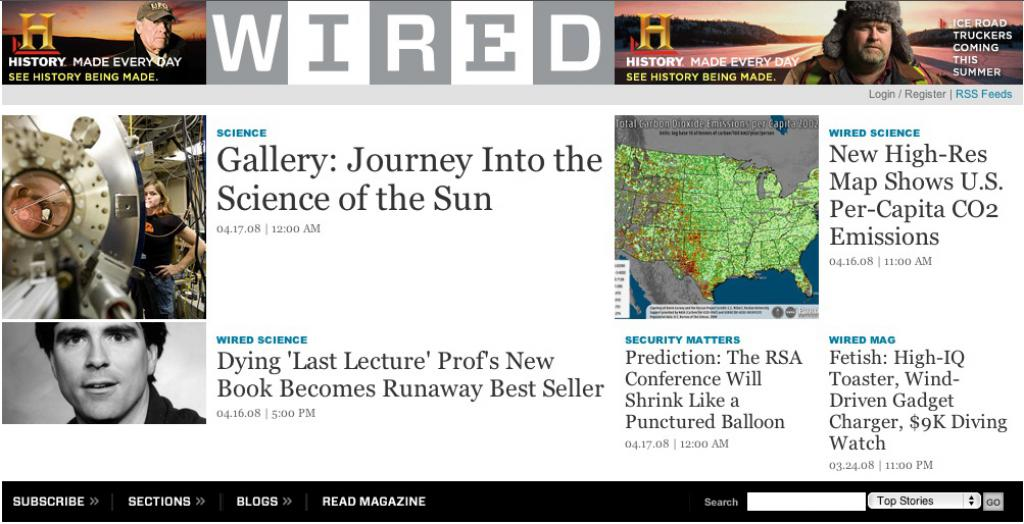 My Plasma Gallery on WIRED News