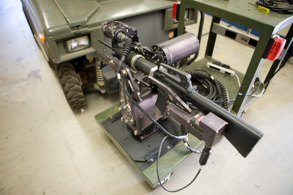 NROWS - Networked Remotely Operated Weapon System