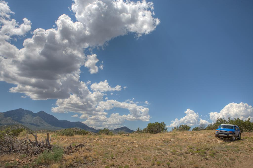 New Mexico Sky and Blue-J