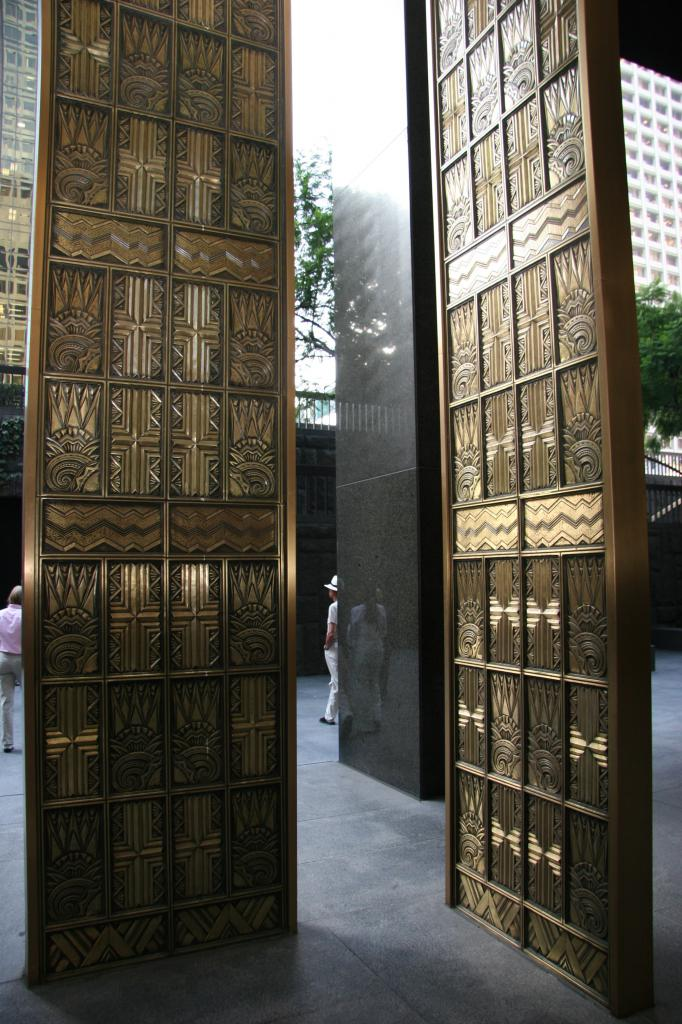 Old Richfield Tower Elevator Doors & Old Richfield Tower Elevator Doors - Downtowns Evolving Skyline on ...