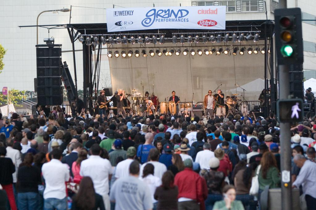 Ozomatli @ Grand Performances