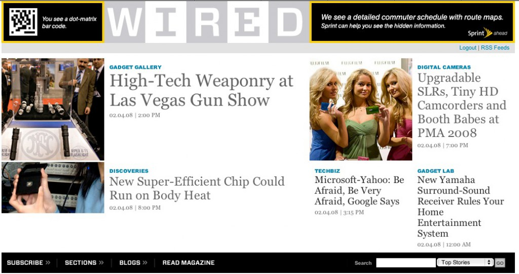 PMA Wrapup Gallery on WIRED News Front Door