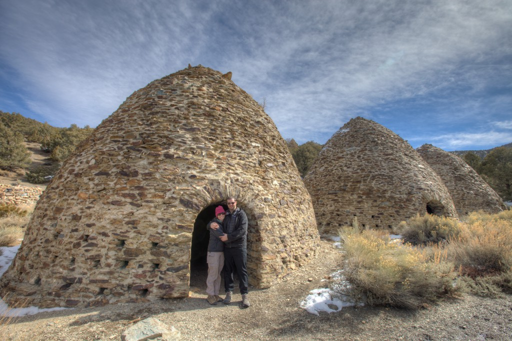 Penelope and Dave at the Charcoal Kilns
