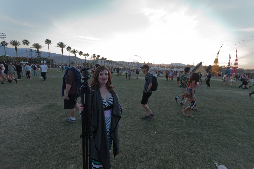 Penelope at Coachella