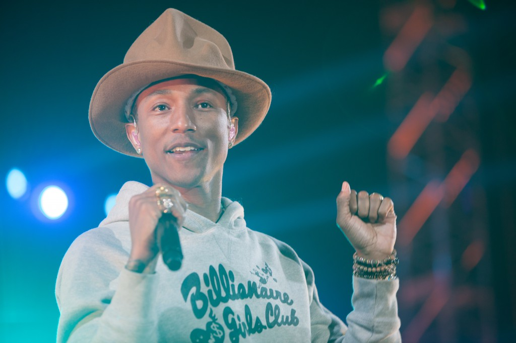 Pharrell Williams at Coachella
