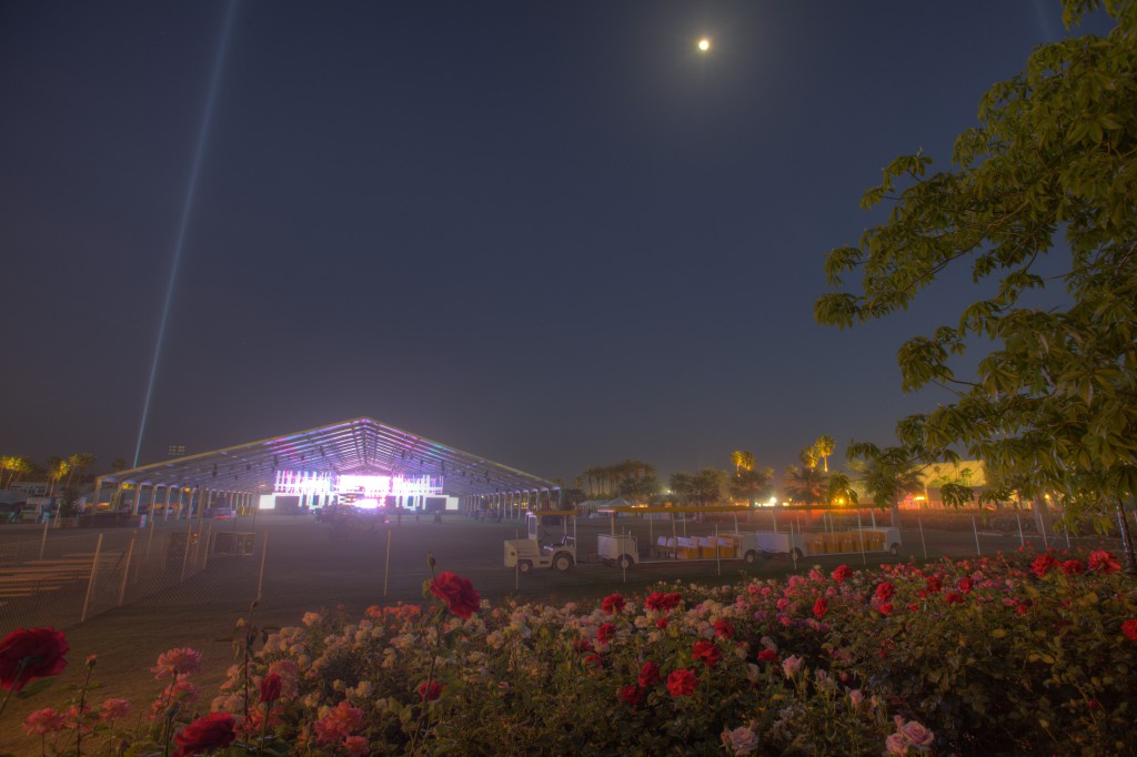 Rose Garden and Sahara Tent