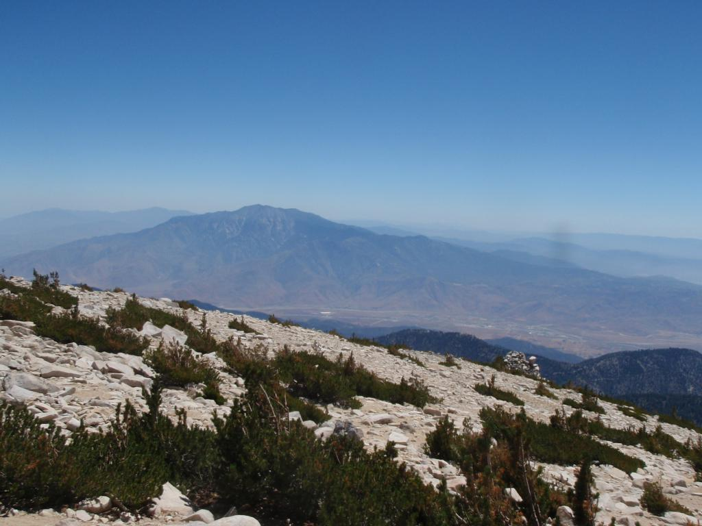 San Jacinto as seen from San Gorgonio Pe