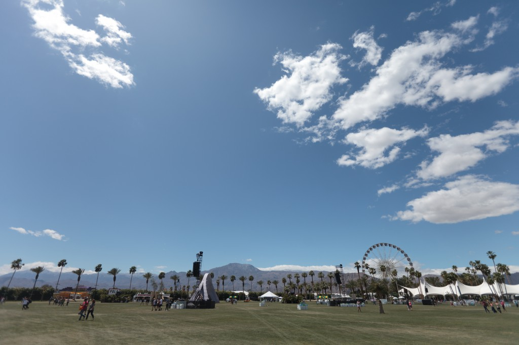 Saturday Morning Coachella Grounds