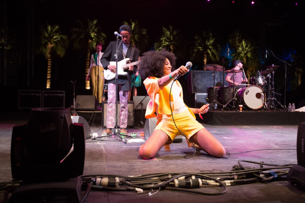 Solange Feeling It at Coachella