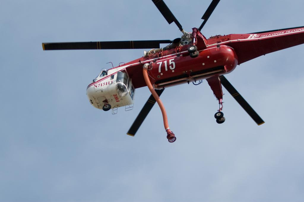 Tanker Helicopter