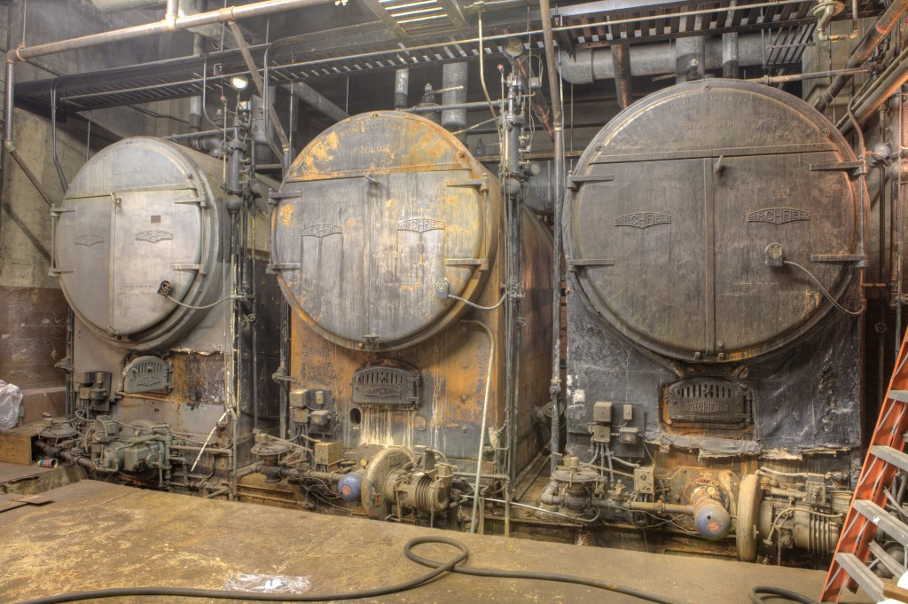 Three Birchfield Boilers