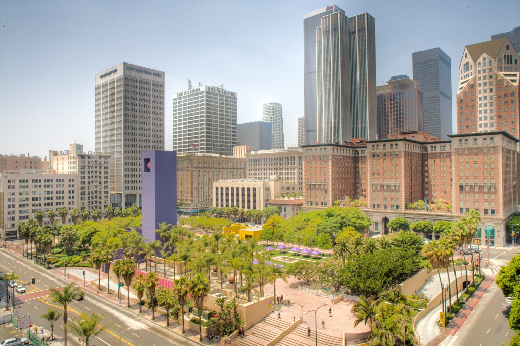 View from Pershing Square Building