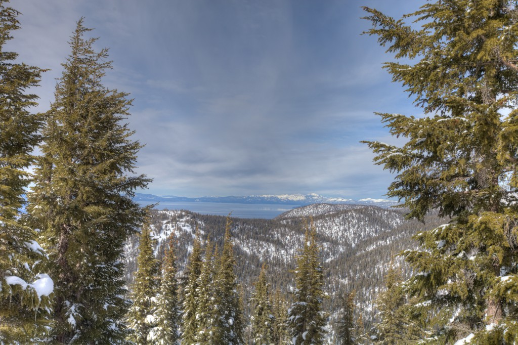 View of Lake Tahoe From Waterhouse Peak