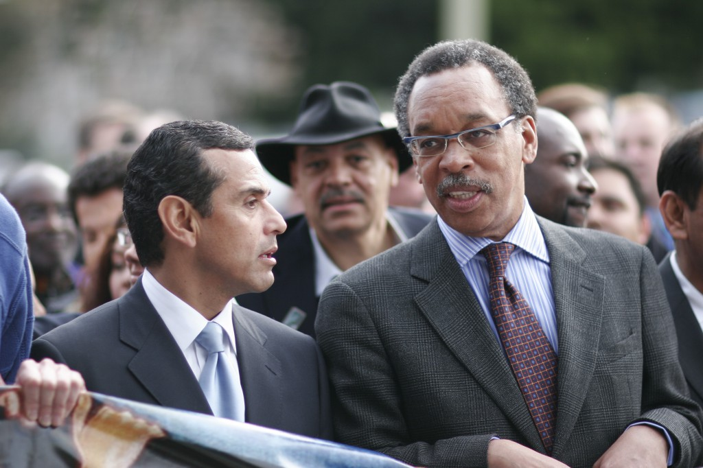 Villaraigosa and Gordon